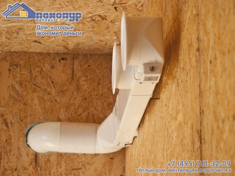 Вентиляция в домах из сип панелей своими